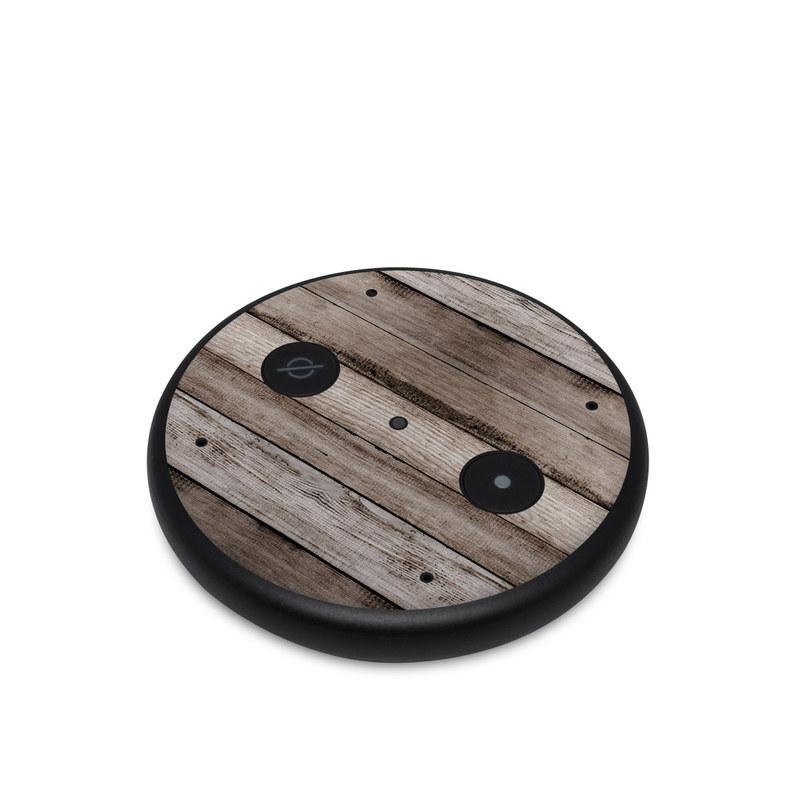 Amazon Echo Input Skin design of Wood, Plank, Wood stain, Hardwood, Line, Pattern, Floor, Lumber, Wood flooring, Plywood with brown, black colors