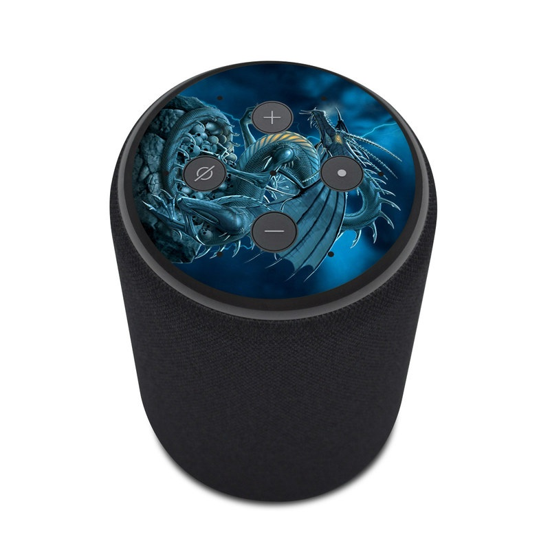 712520cfb Amazon Echo Plus 2nd Gen Skin design of Cg artwork, Dragon, Mythology,  Fictional