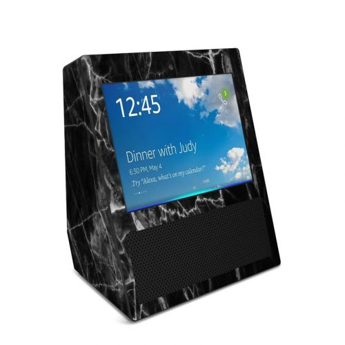 Black Marble Amazon Echo Show Skin