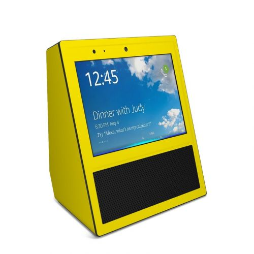 Solid State Yellow Amazon Echo Show 1st Gen Skin