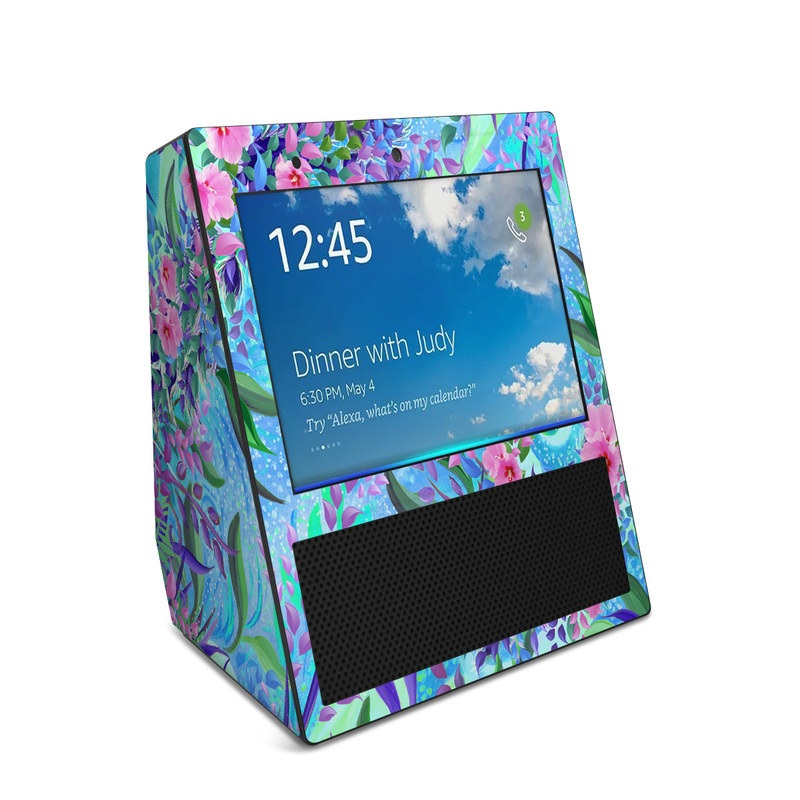 Lavender Flowers Amazon Echo Show 1st Gen Skin