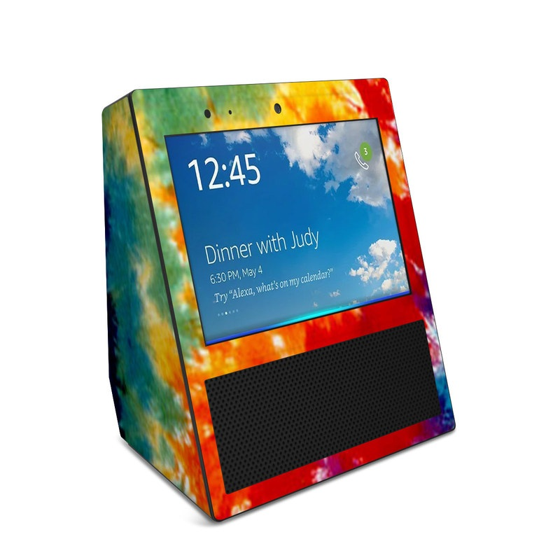 Tie Dyed Amazon Echo Show 1st Gen Skin