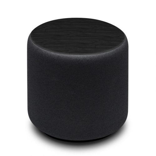 Black Woodgrain Amazon Echo Sub Skin