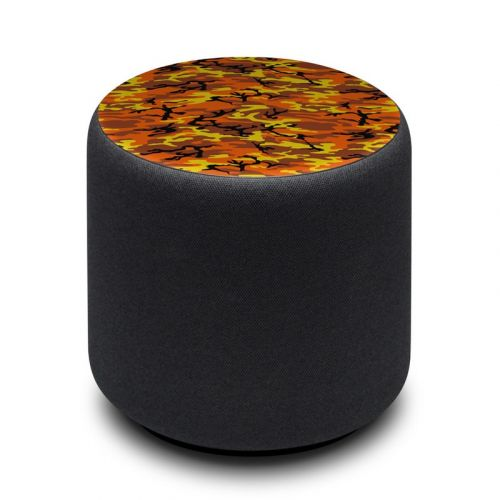 Orange Camo Amazon Echo Sub Skin