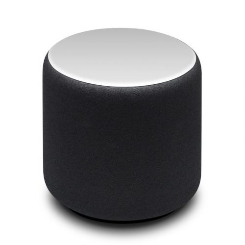 Solid State White Amazon Echo Sub Skin