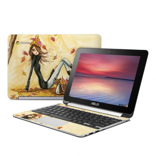 Autumn Leaves Asus Chromebook Flip C100 Skin