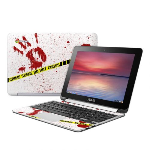Crime Scene Revisited Asus Chromebook Flip C100 Skin