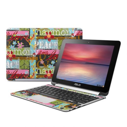 Harmony and Love Asus Chromebook Flip C100 Skin