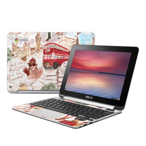 London Asus Chromebook Flip C100 Skin