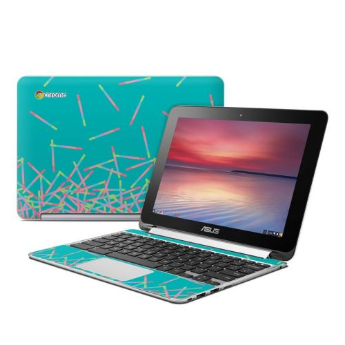 Pop Rocks Wands Asus Chromebook Flip C100 Skin