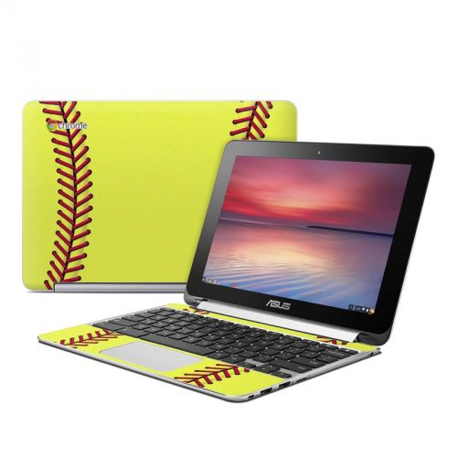 Softball Asus Chromebook Flip C100 Skin