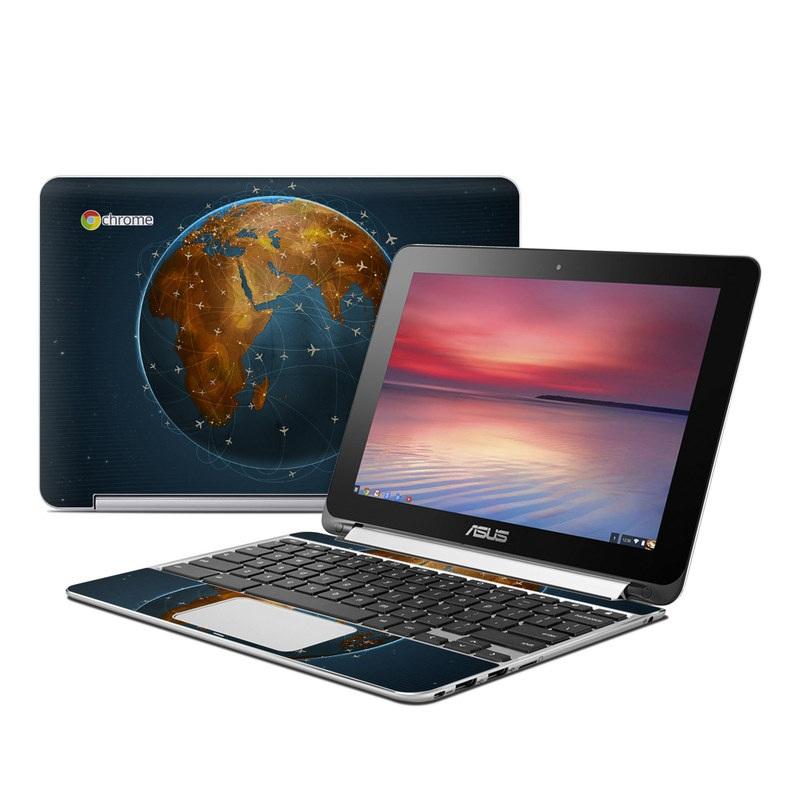 Airlines Asus Chromebook Flip C100 Skin