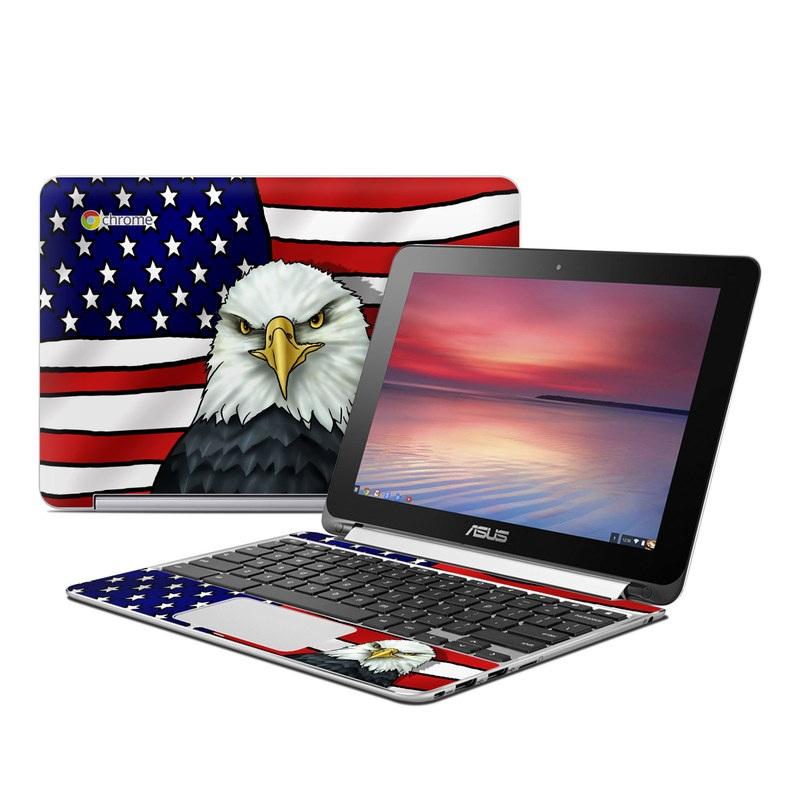 American Eagle Asus Chromebook Flip C100 Skin
