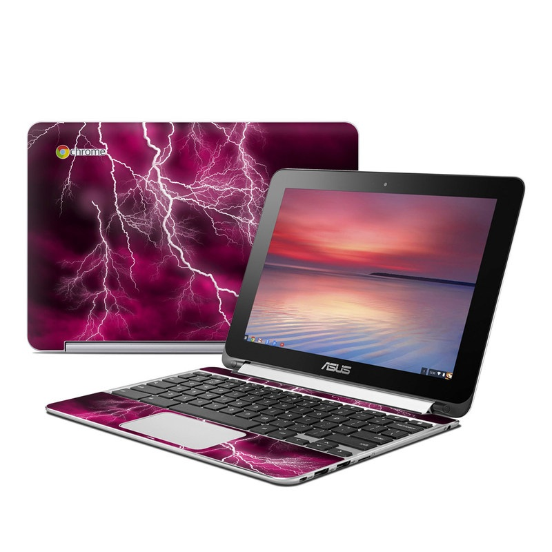 Apocalypse Pink Asus Chromebook Flip C100 Skin