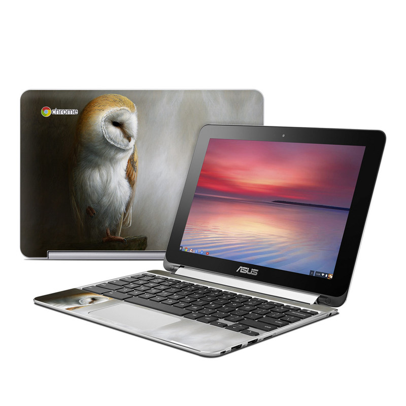 Barn Owl Asus Chromebook Flip C100 Skin