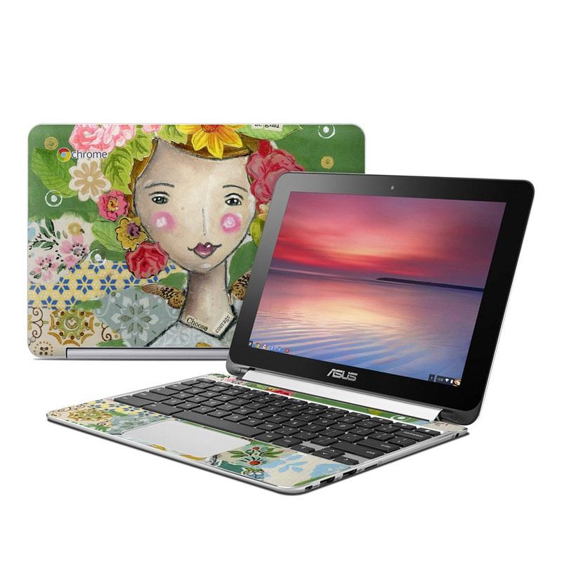 Be Glad Asus Chromebook Flip C100 Skin
