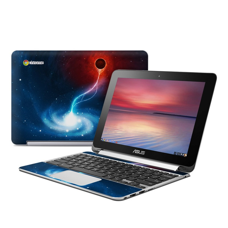 Black Hole Asus Chromebook Flip C100 Skin