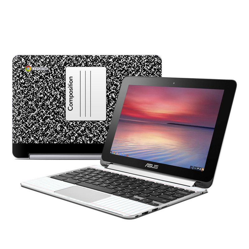 Composition Notebook Asus Chromebook Flip C100 Skin