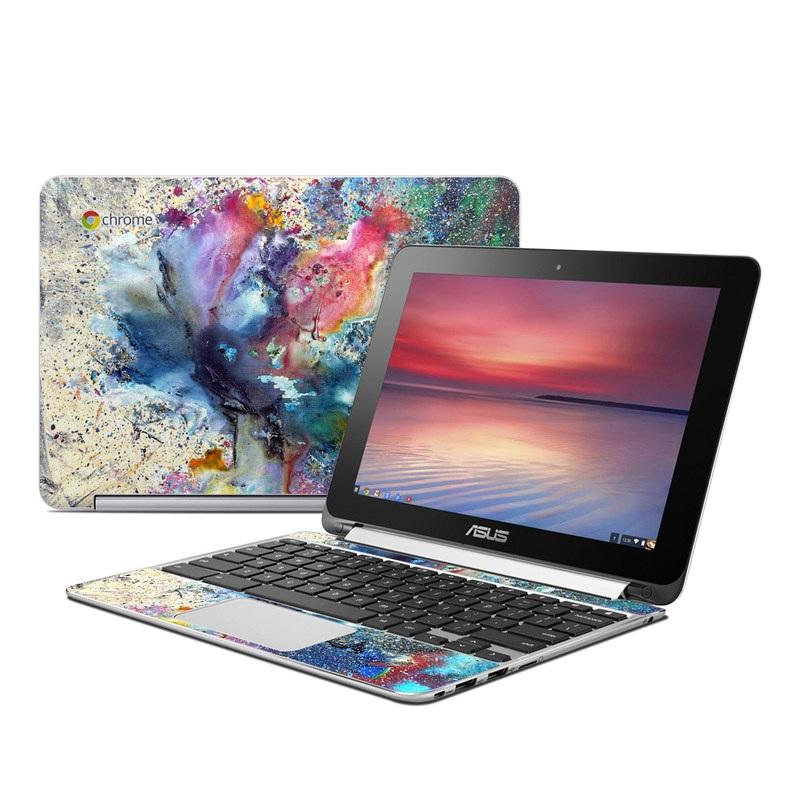 Cosmic Flower Asus Chromebook Flip C100 Skin