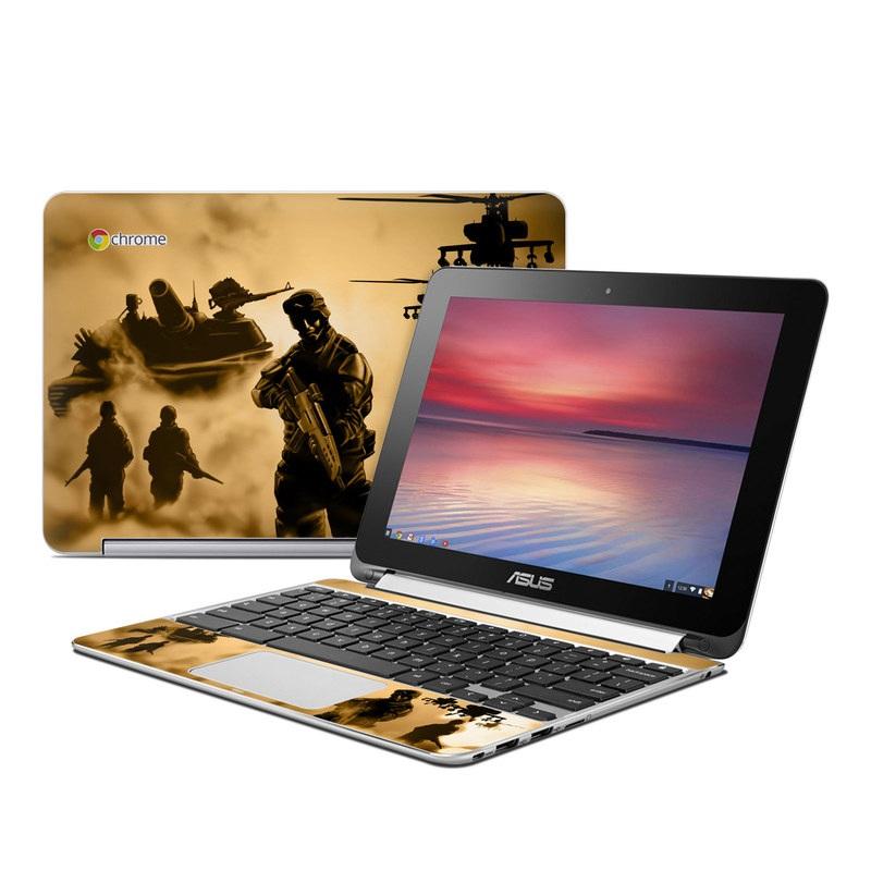 Desert Ops Asus Chromebook Flip C100 Skin