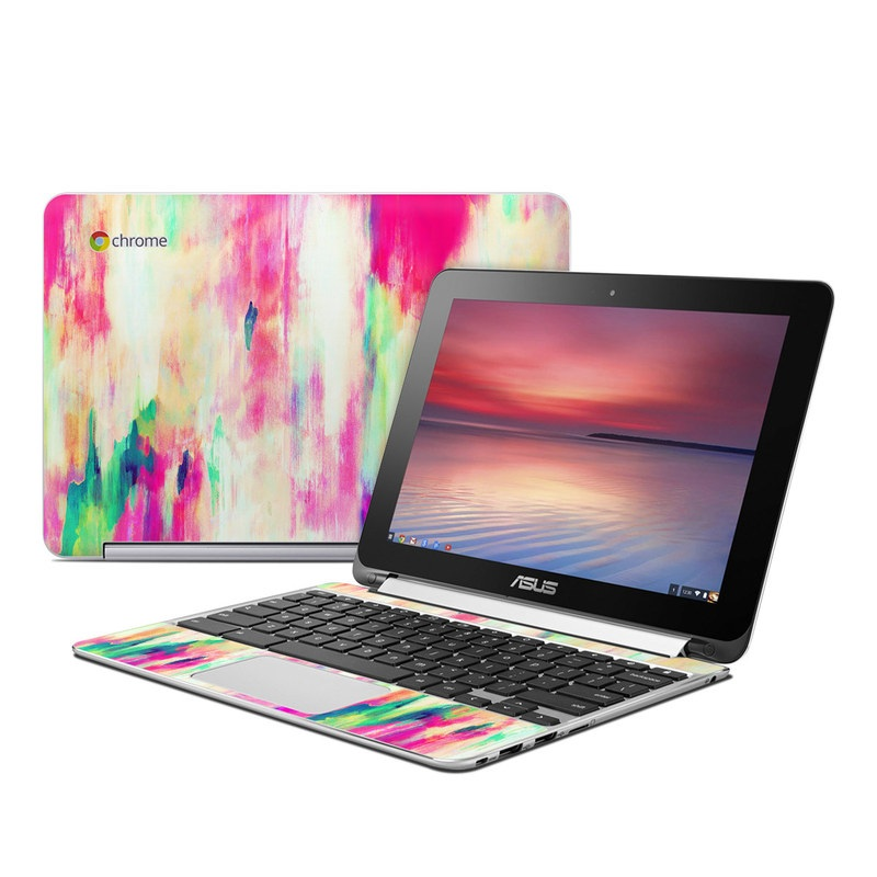 Electric Haze Asus Chromebook Flip C100 Skin