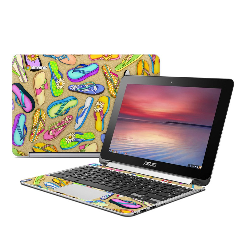 Flip Flops Asus Chromebook Flip C100 Skin
