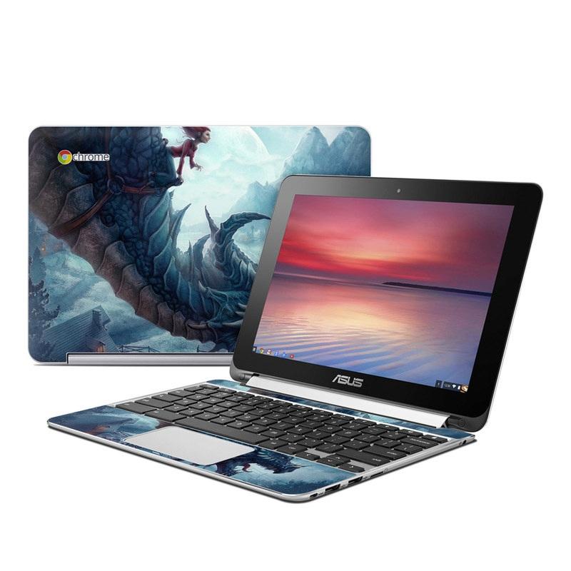 Flying Dragon Asus Chromebook Flip C100 Skin