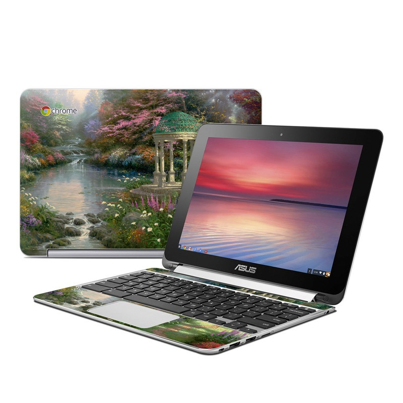 Garden Of Prayer Asus Chromebook Flip C100 Skin