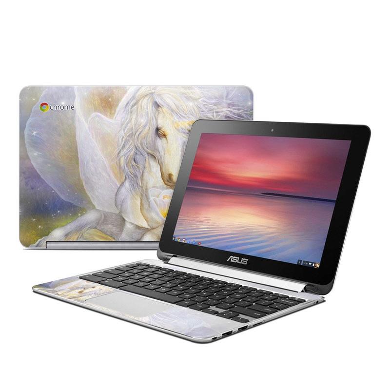 Heart Of Unicorn Asus Chromebook Flip C100 Skin
