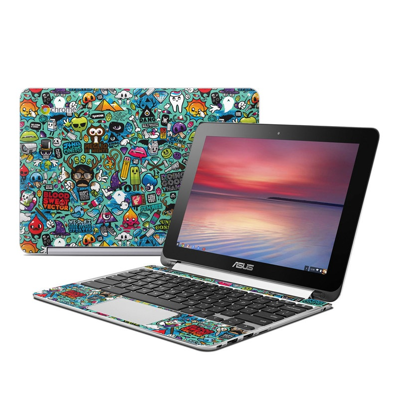 Jewel Thief Asus Chromebook Flip C100 Skin