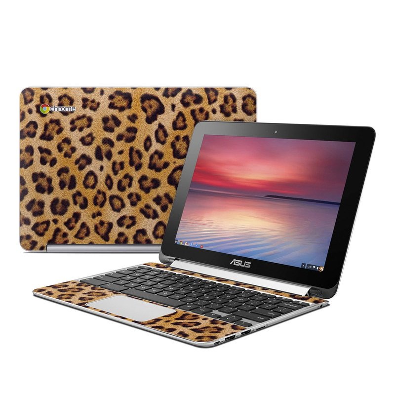Leopard Spots Asus Chromebook Flip C100 Skin
