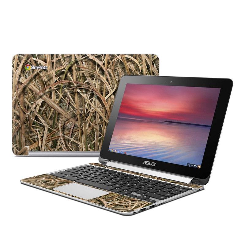 Shadow Grass Blades Asus Chromebook Flip C100 Skin