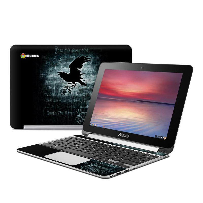 Nevermore Asus Chromebook Flip C100 Skin