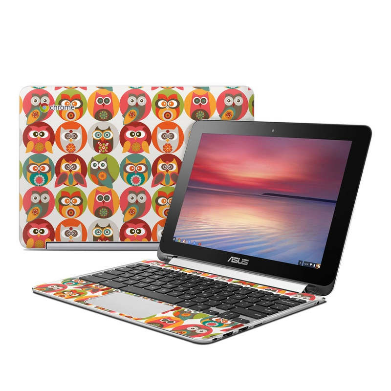 Owls Family Asus Chromebook Flip C100 Skin