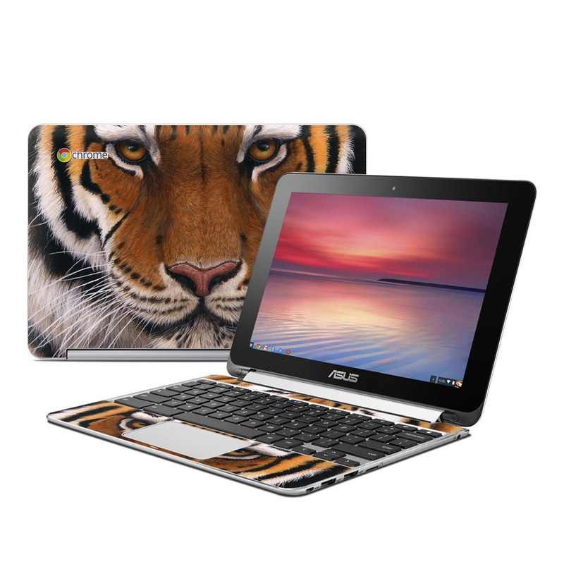 Siberian Tiger Asus Chromebook Flip C100 Skin