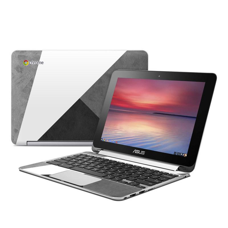 Slate Asus Chromebook Flip C100 Skin