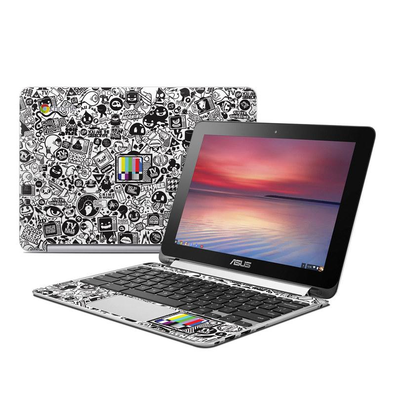 TV Kills Everything Asus Chromebook Flip C100 Skin