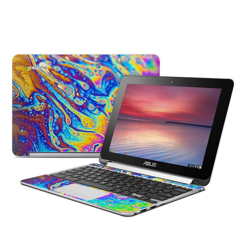 World of Soap Asus Chromebook Flip C100 Skin