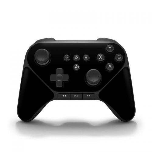 Solid State Black Amazon Fire Game Controller Skin