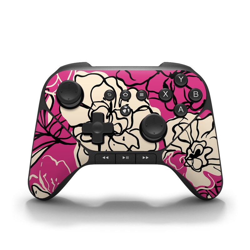 Black Lily Amazon Fire Game Controller Skin