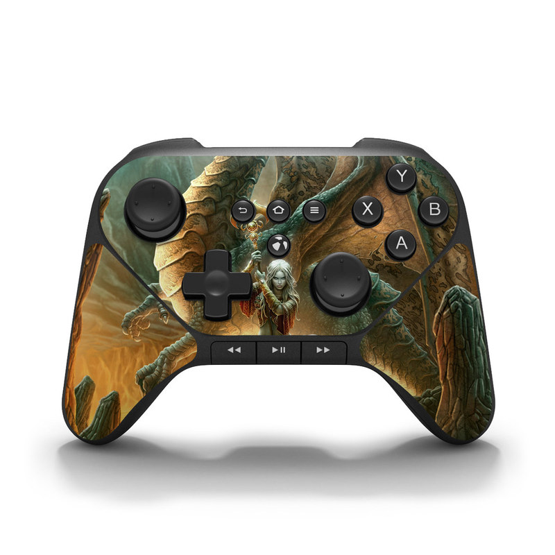 Dragon Mage Amazon Fire Game Controller Skin
