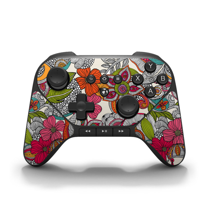Doodles Color Amazon Fire Game Controller Skin