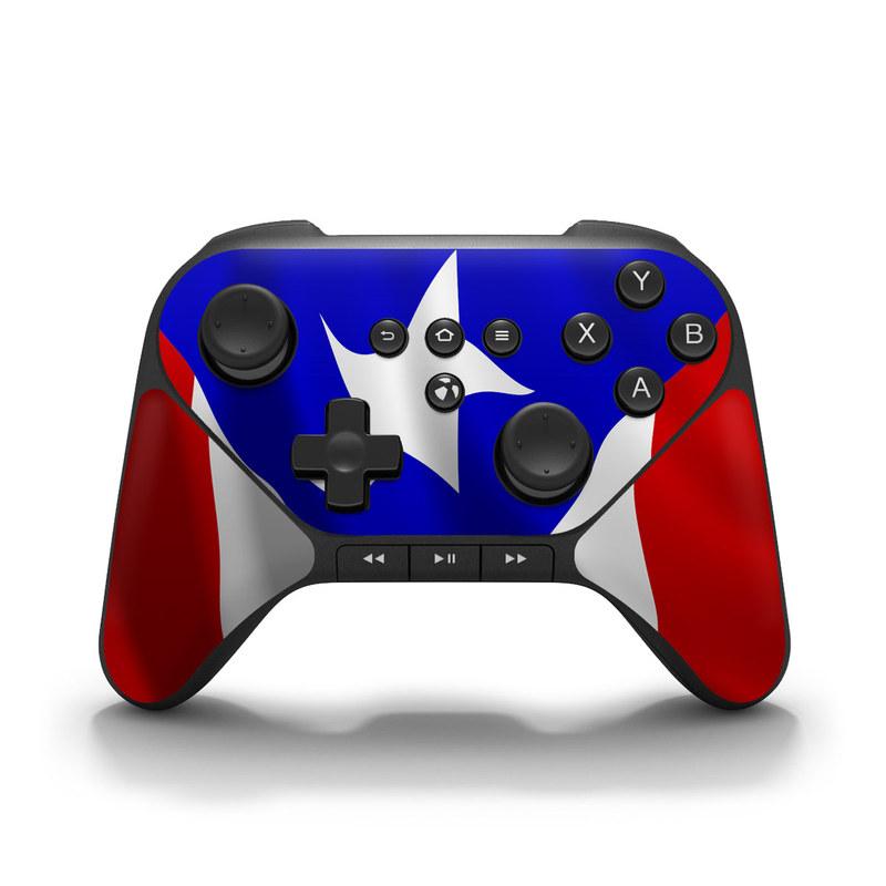 Puerto Rican Flag Amazon Fire Game Controller Skin