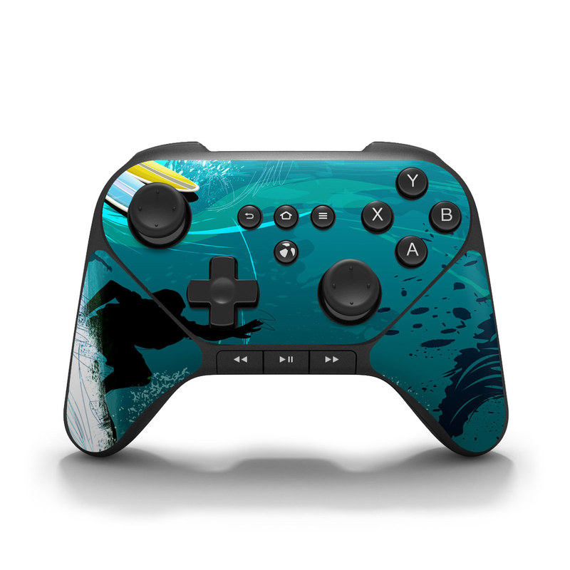 Hit The Waves Amazon Fire Game Controller Skin