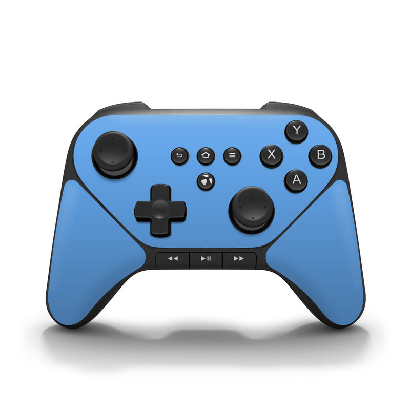 Amazon Fire Game Controller Skin design of Sky, Blue, Daytime, Aqua, Cobalt blue, Atmosphere, Azure, Turquoise, Electric blue, Calm with blue colors