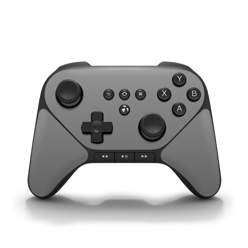 Solid State Grey Amazon Fire Game Controller Skin