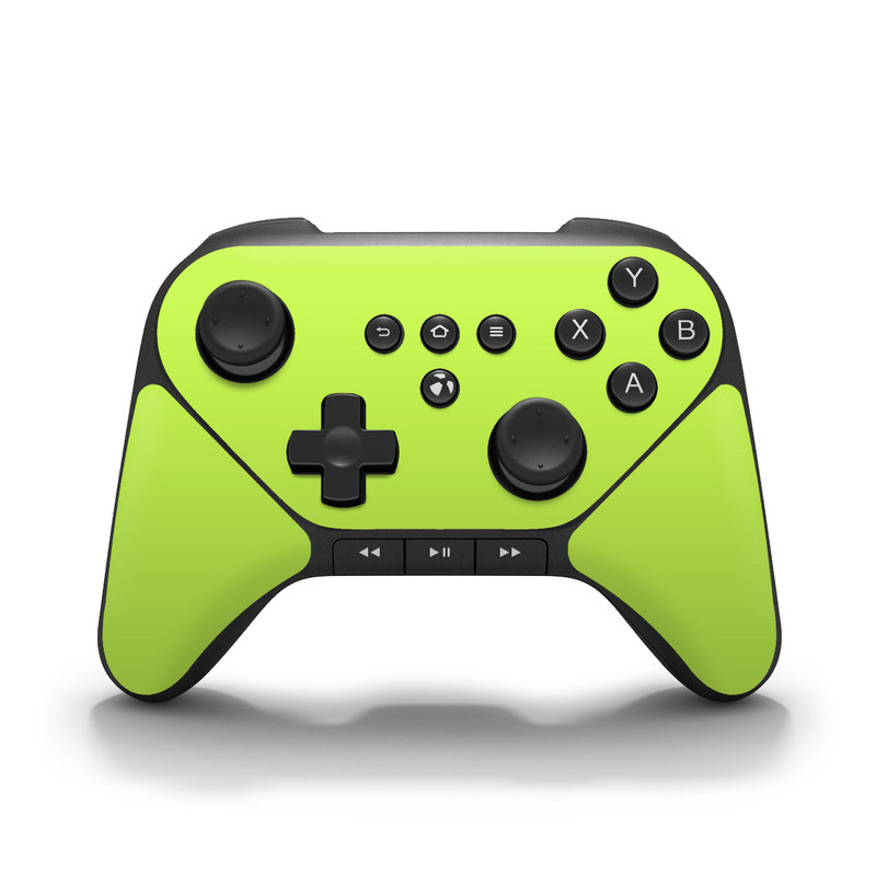 Solid State Lime Amazon Fire Game Controller Skin