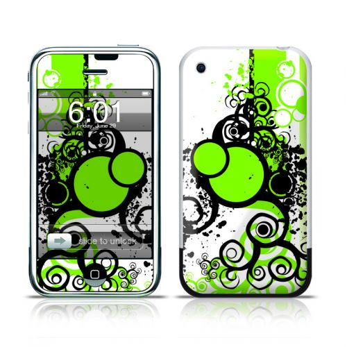 Simply Green iPhone 1st Gen Skin