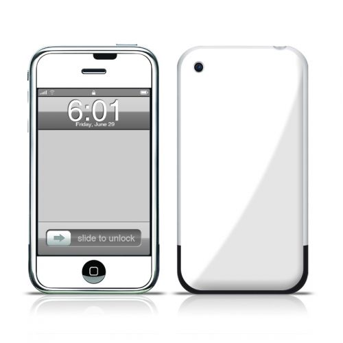 Solid State White iPhone 1st Gen Skin
