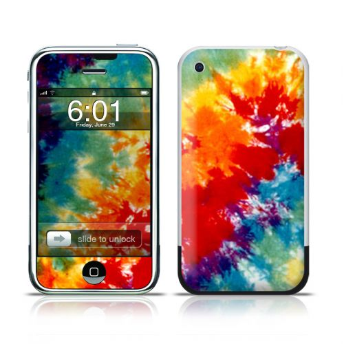 Tie Dyed iPhone 1st Gen Skin